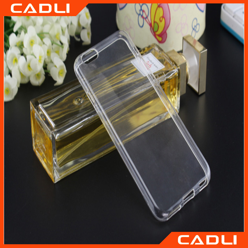 Top-selling Crystal Clear Transparent Soft Silicon TPU Mobile phone Case for Samsung s4