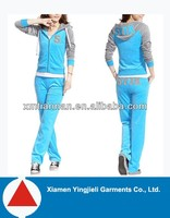 2014 newest fashion design high quality wholesale sweat suits for women
