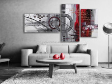 Abstractive Group Oil Painting Art Pictures