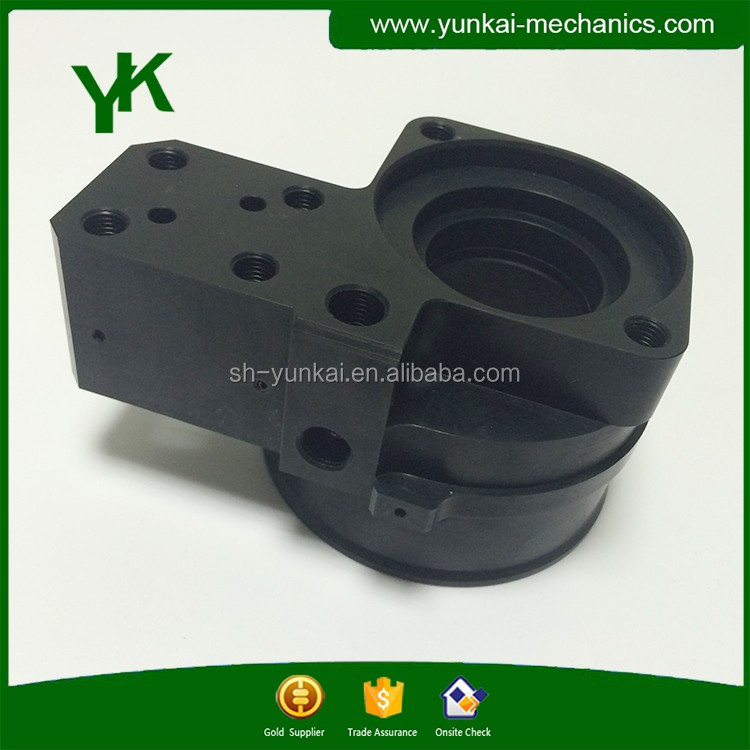 Custom high precision aluminum material auto part