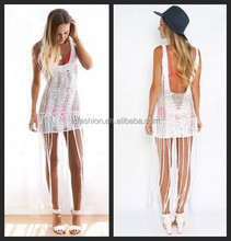 New Look Sexy Girl Without Dress Tassel hem Online Shop Clothes