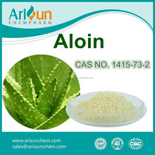 Factory Supply Aloe Vera Aloin Powder , Aloin Extract , Aloin