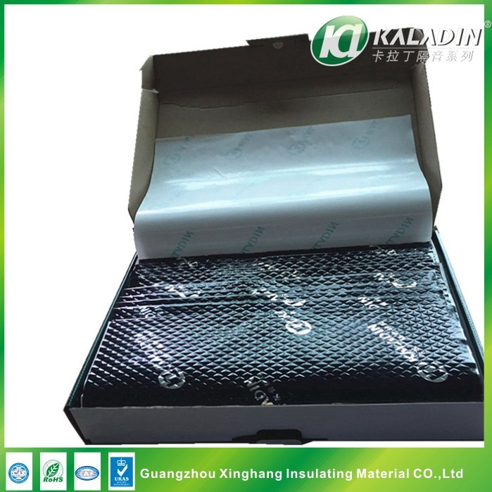 2017 Aluminum Foil Butyl Rubber SoundProof Material /Soundproofing Pads