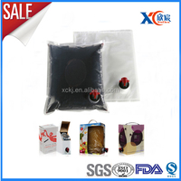 Newest custom PE complex meterial Cola bag in box 5L 10L 20L