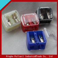 Doulbe Holes Plastic Cosmetic Pencil Sharpener