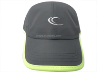 100% polyester grey fabric for adult new high with embroider for the golf and outdoors sports baseball caps and hats