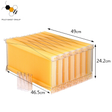 Auto Honey Flow Bee Hive Plastic Frame Food Grade Flow Beehive Frame Price