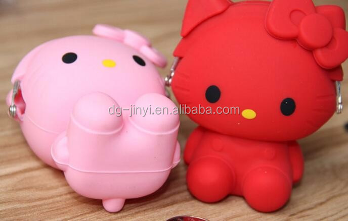 silicone rubber change purse coin purse cute purses for girls