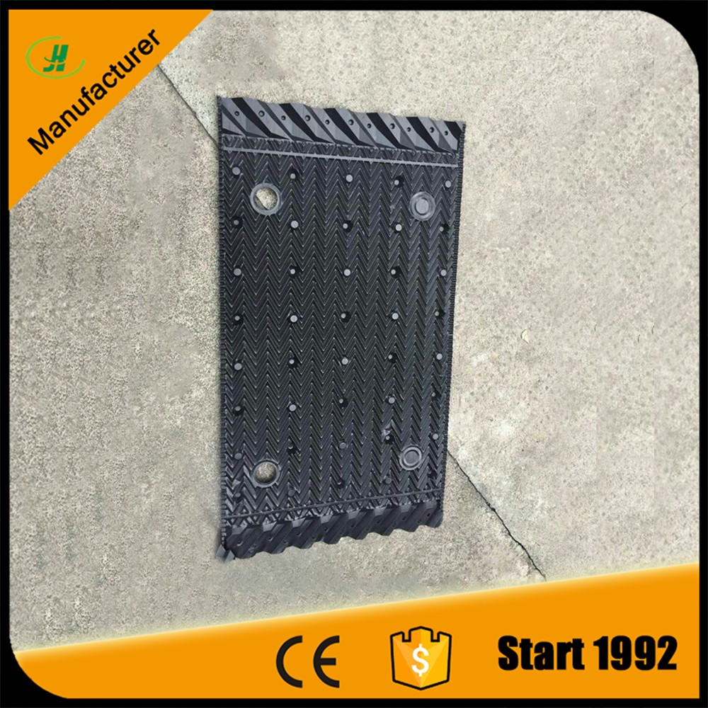 305mm 610mm pvc pp counter flow cooling tower infill