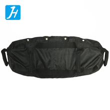 Gymnastic Power Lifting Weight Training Exercise Power Bags with Straps Fitness Training Black Nylon Power Bag Sand Bag