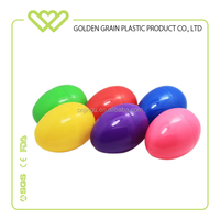 Two haves toy inside Clear Plastic Easter Eggs Wholesale