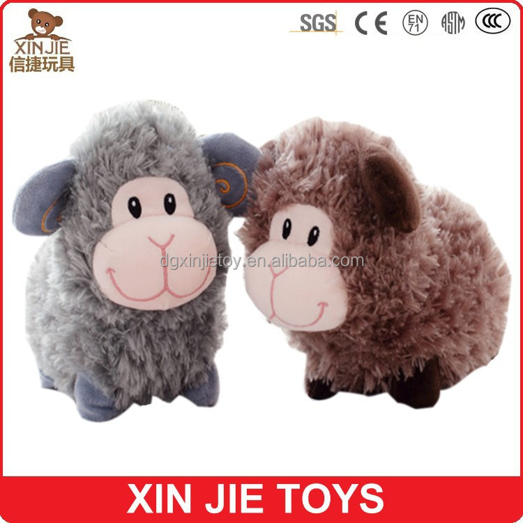 5inch plush lamb keychain cute soft sheep pendant hot selling stuffed sheep keychain