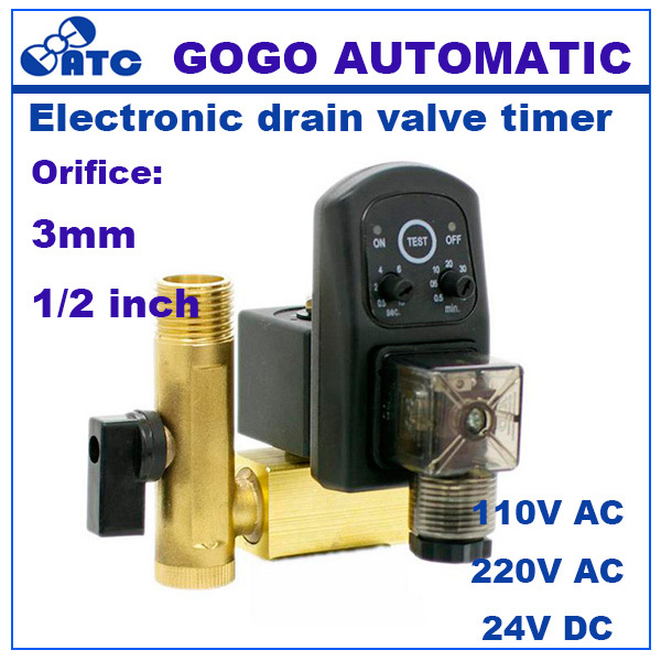 Time delay water valve