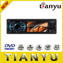 universal one din auto radio car dvd support bluetooth/