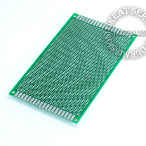 5pcs/bag 9 * 15CM 1.6  thick pitch -purpose spray tin universal board breadboard  2.0  hole circuit board