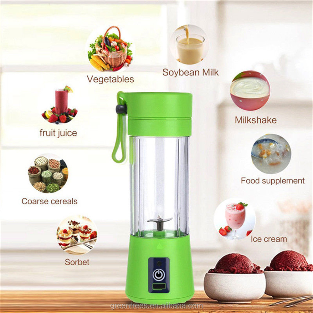 Dropshipping Mini Personal Blender Portable Smoothie Blend Electric Fruit Juice Extractor with USB Rechargeable for Home Outdoor