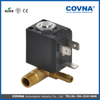 Hot selling direct acting 2 way or 3 way small home appliances miniature AC24V -240V or DC12V-48V solenoid valve