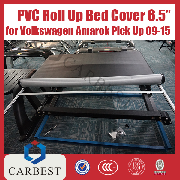 High Quality 6.5 Inches PVC Roll Up Bed Cover For Volkswagen Amarok Pick Up