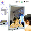 2014 New Aluminum frame Acrylic material magic mirror motion sensor LED advertising light box