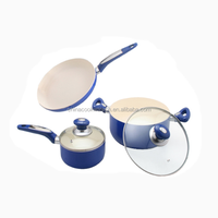 Moden kitchen designs aluminum ceramic cookware set