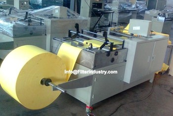 rotary Air filter paper pleating machine