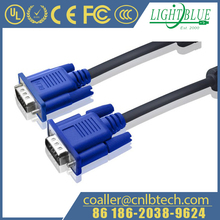 5/10 FT Blue 15PIN VGA/SVGA D-Sub Male to Male Cable Monitor M/M New For PC TV