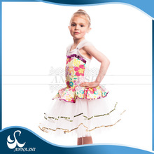 Top selling Spandex ballerina costume children