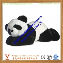 Cute stuffed giant panda toys plush fat panda