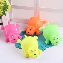 self play natural chew plastic animal squeaky pet toys for dogs