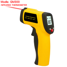 Digital Infrared Thermometer Non-Contact temperature Pyrometer IR Laser Surface Body Forehead Point Gun GM300 -50~420 degree
