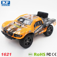 1621 2.4G Electric 4WD Brush Cross Country Short Course Racing Toy Car RC Monster Truck