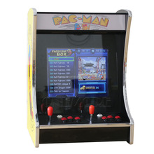Hot selling 19 inch bartop arcade cabinet table top mini arcade game machine with classical jamma multi games
