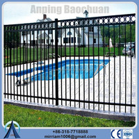 classic and commercial backyard/residential/apartment/construction fencing