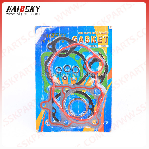 HAISSKY motorcycle spare parts sealing gasket for motorcycle full gasket sets