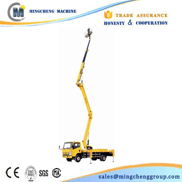 two year warranty for harvest vehicle mounted boom lift by railway