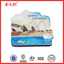 Sydney Opera fridge magnet for tourism souvenir
