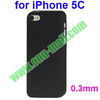 0.3mm Ultrathin Frosted Transparent Plastic Hard Case for iPhone 5C