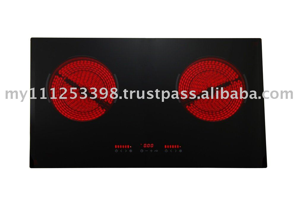 2 Zone Radiant Ceramic Hob