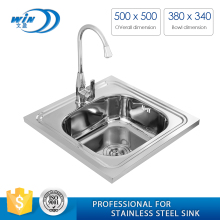 kitchen accessories stainless steel Square Kitchen Sink