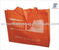 Cheap Price printed 80gsm pp non woven promotion carry bag