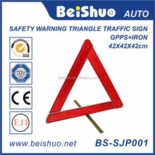 Original Red Warning Signal Safety Reflective Car Warning Triangle High Reflective Emergency Triangle for Traffic Warning