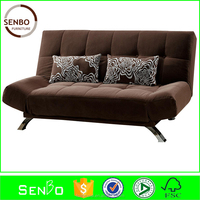 2015 latest design hotsale leather sofa cum bed / sofa bed parts / Sofa beds with Arms