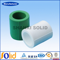 Hot And Cold Water Pipe Parts Ppr Pipes Fittings Equal Straight Coupling