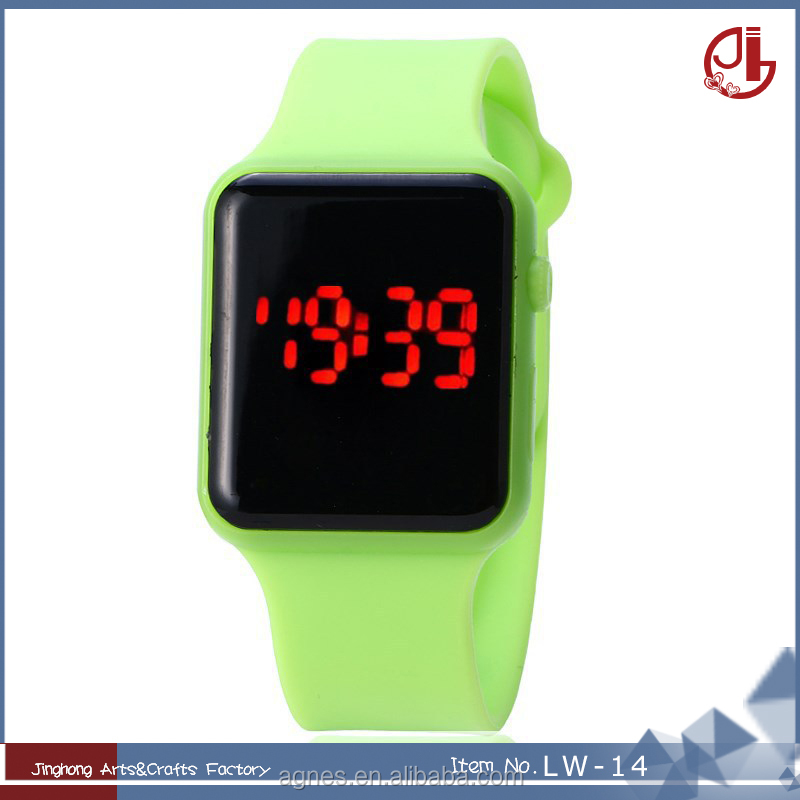 Sport Watches Digital Watch Women Casual Silicone LED Watch Online Shopping