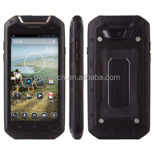 Lamborghini V12 IP67 Waterproof Rugged Smartphone 4.5 Inch Screen 3G WCDMA GSM Shockproof Smart Mobile Cell Phone Cellphone