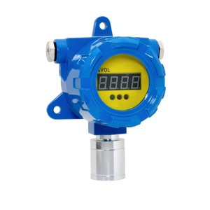 Industrial fixed analyzer gas leakage detector with air safety monitoring