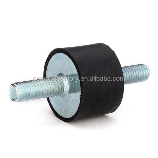 25x25xm6 rubber motor mounts generator isolator anti for Anti vibration motor mounts