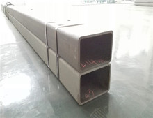 Cold Formed Seamless/Welded Steel Square Tubing ASTM A500 for Railway Constructions