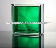 Psychedelic Color Glass Block