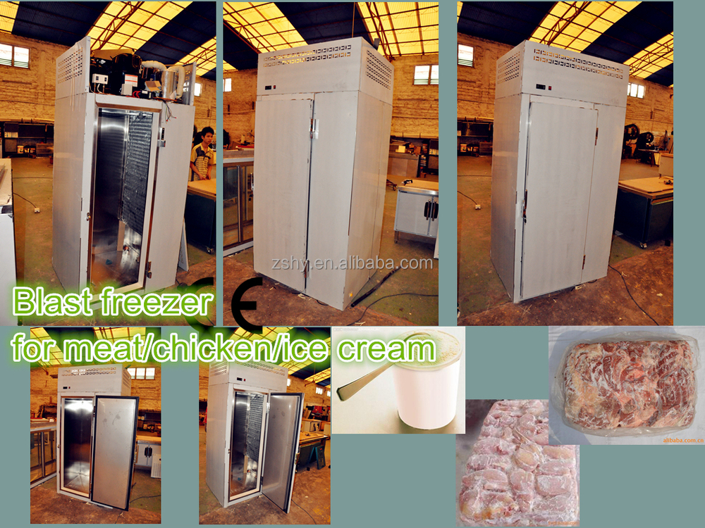blast freezer for fish/seafood/meat